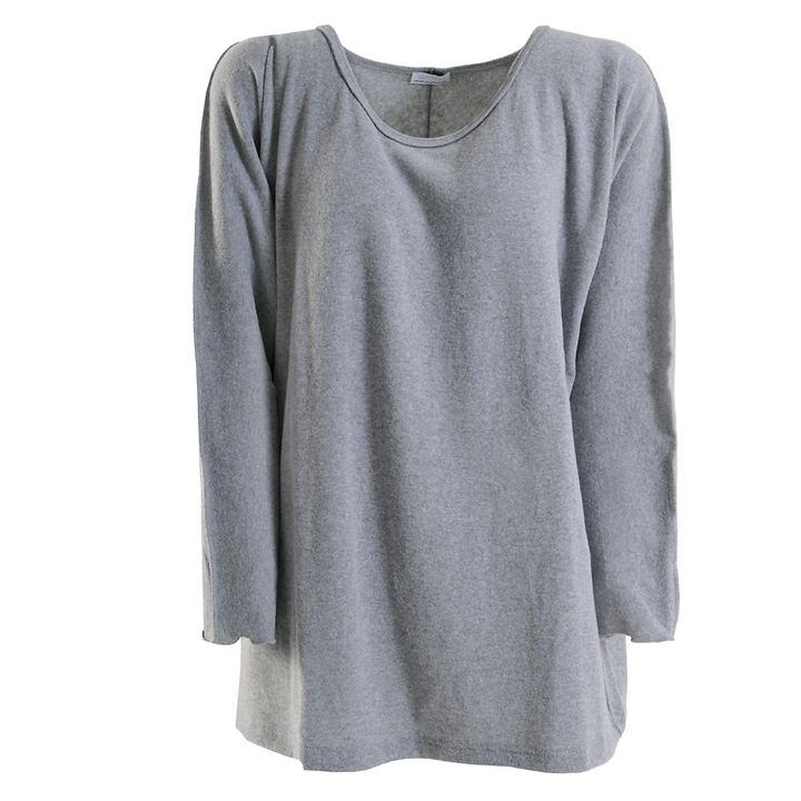 Big Shirt Annabell hellgrau Gr. 46