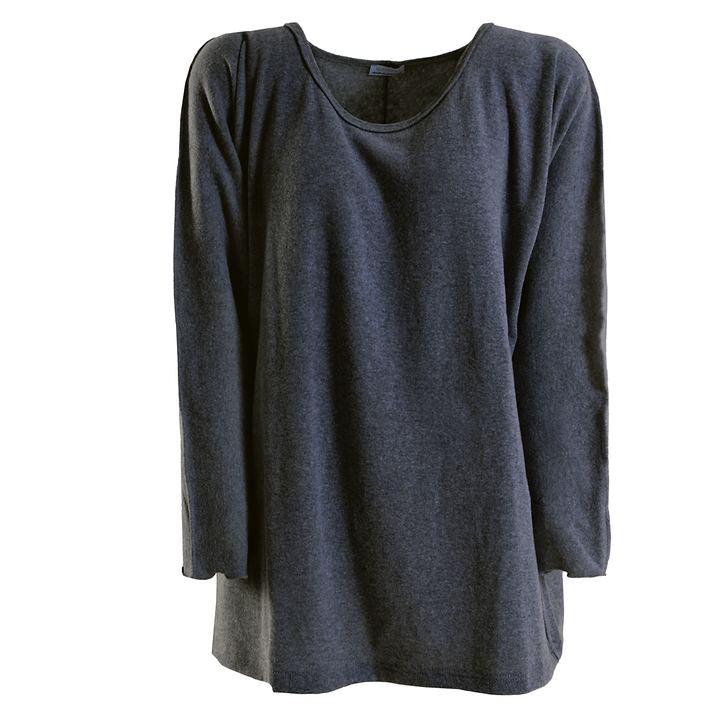 Big Shirt Annabell d-grau Gr. 48
