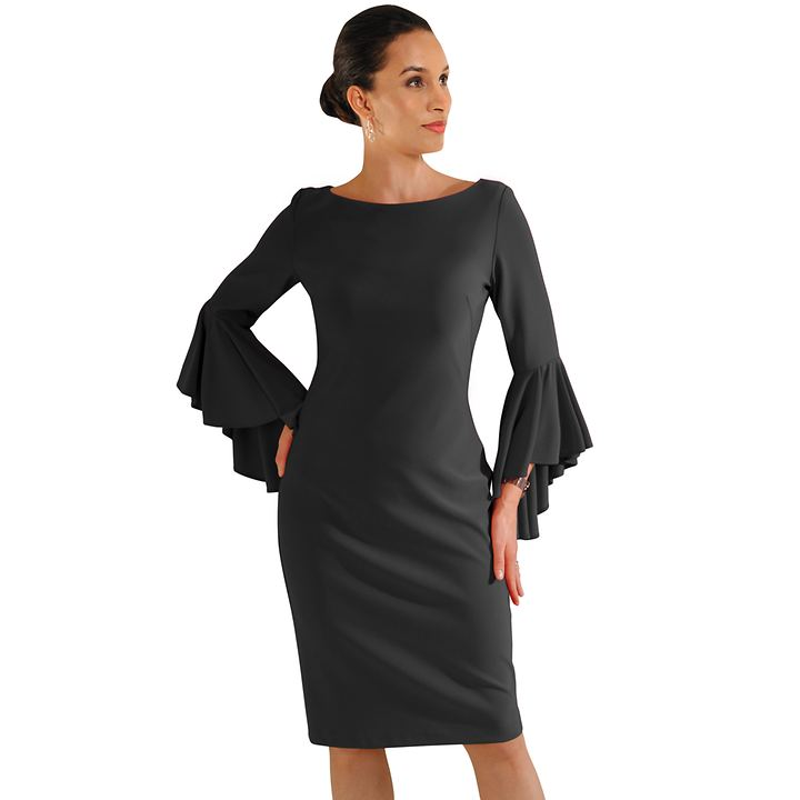 Kleid Edith schwarz Gr. 44
