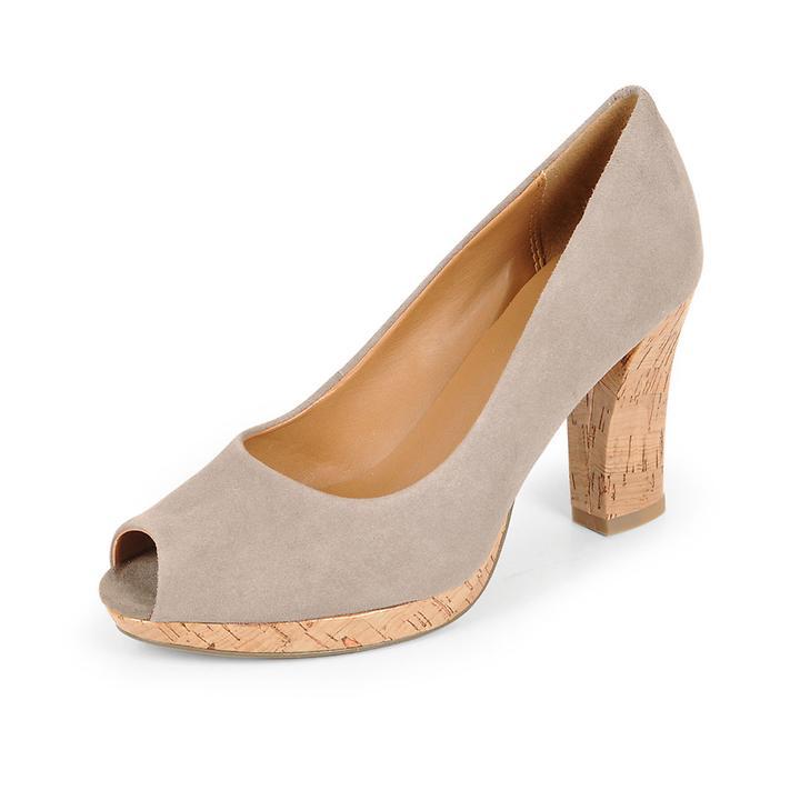 Peeptoes Adina Kendra mushroom   Schuhe > Pumps > Peeptoes   Clarks