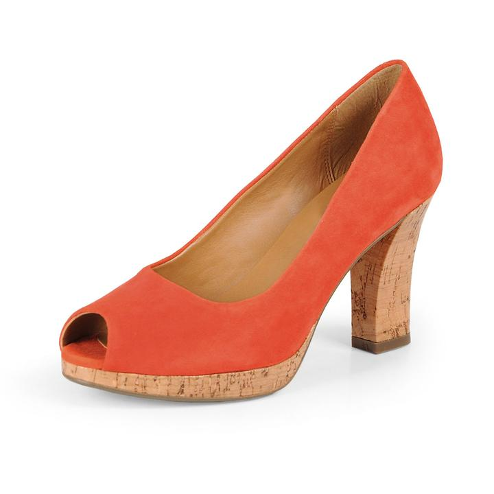 Peeptoes Adina Kendra coral | Schuhe > Pumps > Peeptoes | Clarks