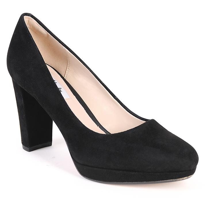 Pumps Kendra, Veloursleder, black, Gr. 37