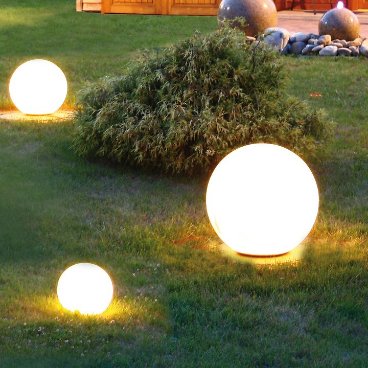 LED-Solar-Kugel Astra