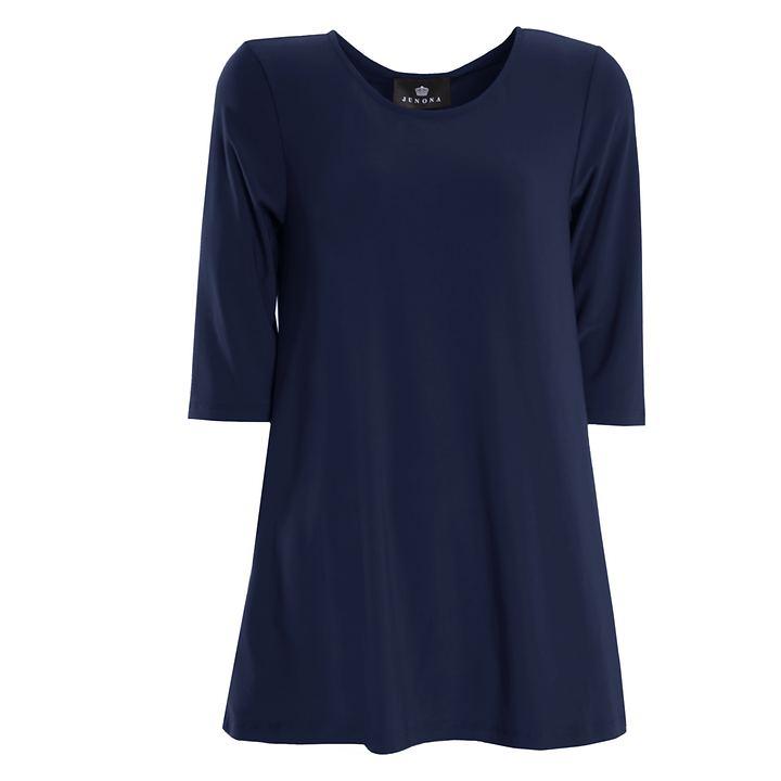 3/4 Arm Shirt Thea blau Gr. 40