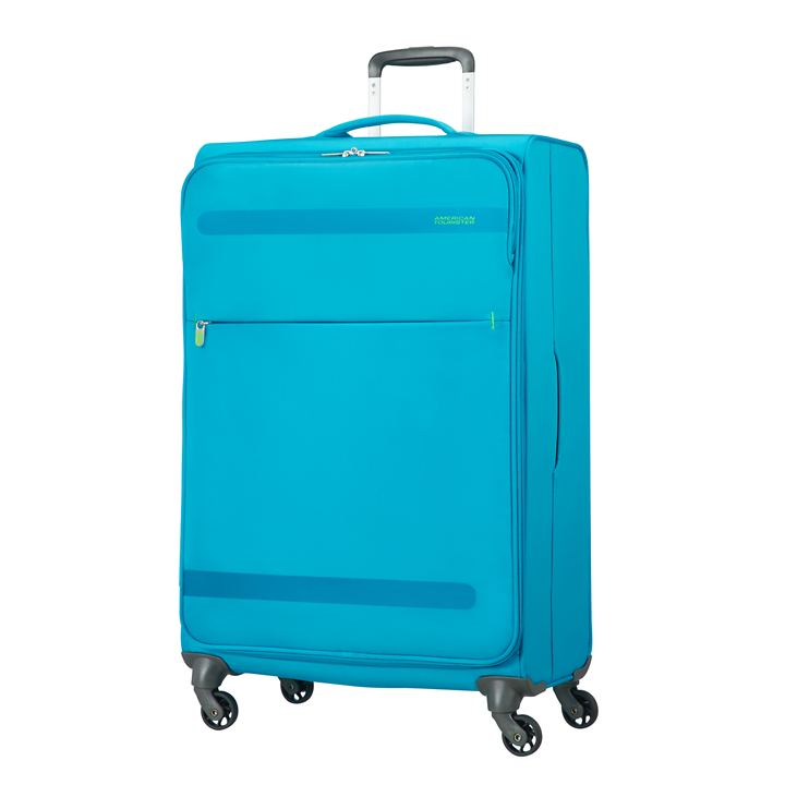 American Tourister `Herolite`, 74 cm, Trolley, mighty blue, 4 Rollen