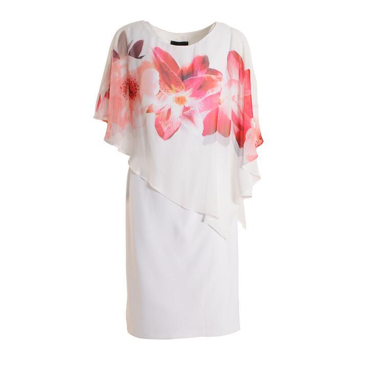 Kleid Minka off-white/coral Gr. 36