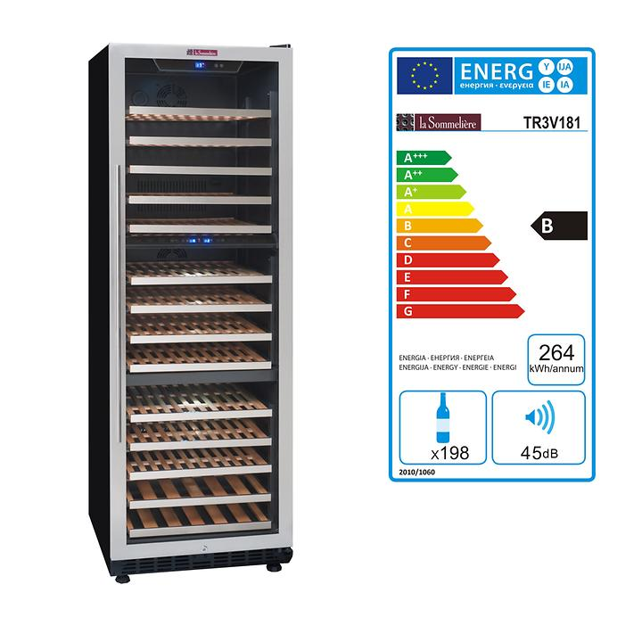 Multizonen Einbaukühlschrank TR3V 181