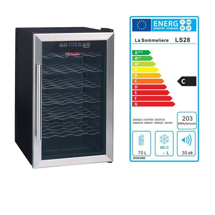 Einzonen Weinkühlschrank LS 28 B