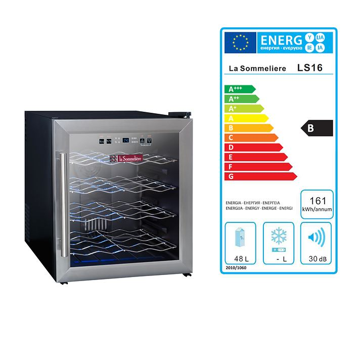 Einzonen Weinkühlschrank LS 16 B