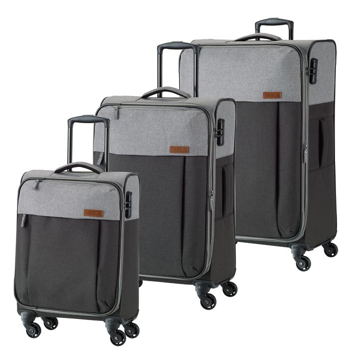 travelite Neopak Trolleys, anthrazit/grau, 4 Rollen