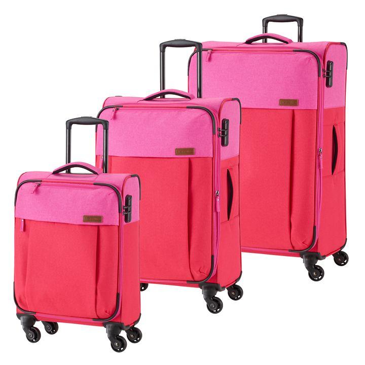 travelite Neopak Trolleys, rot/pink, 4 Rollen