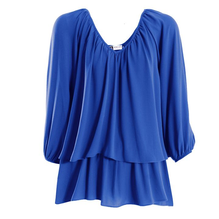 Shirt Mistral blau, Gr. 46