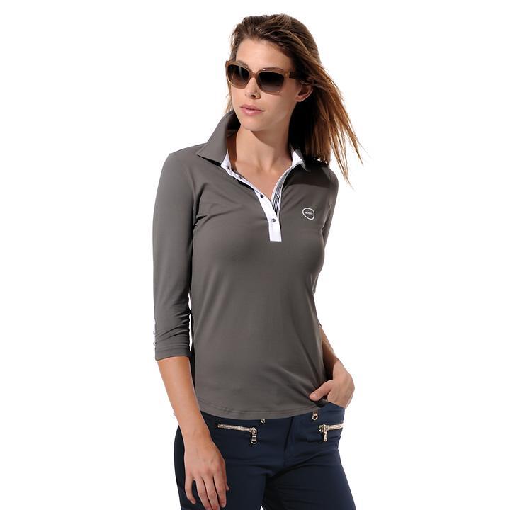3/4-Arm-Shirt Meryl taupe Gr. 46