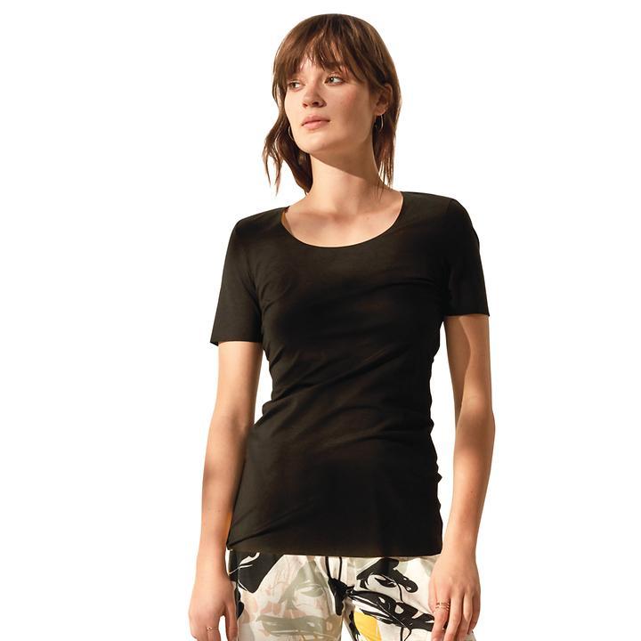 Shirt Natural Luxe schwarz Gr. 36/38