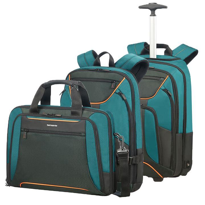 Samsonite Kleur Businesstaschen, Green/Dark, 4 Rollen