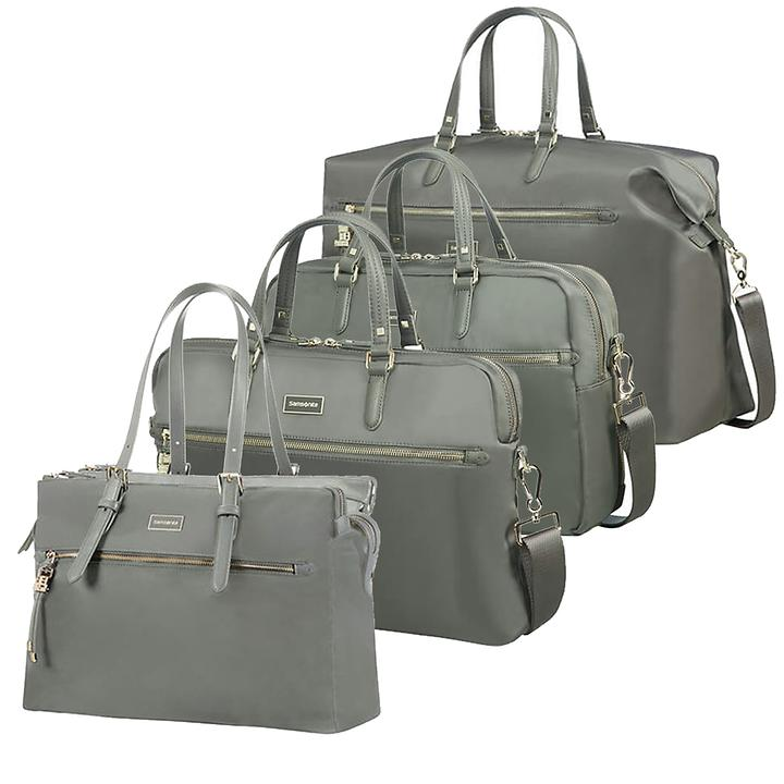 Samsonite Karissa Biz Businesstaschen, gunmetal green