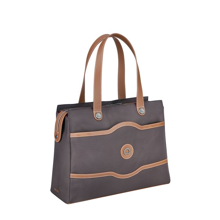 Delsey Chatelet Air Soft Lady Einkaufstasche, schokolade