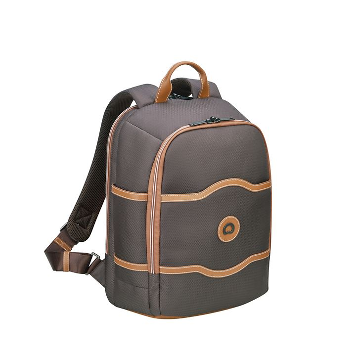 Delsey Chatelet Air Soft Rucksack 15.6, schokolade