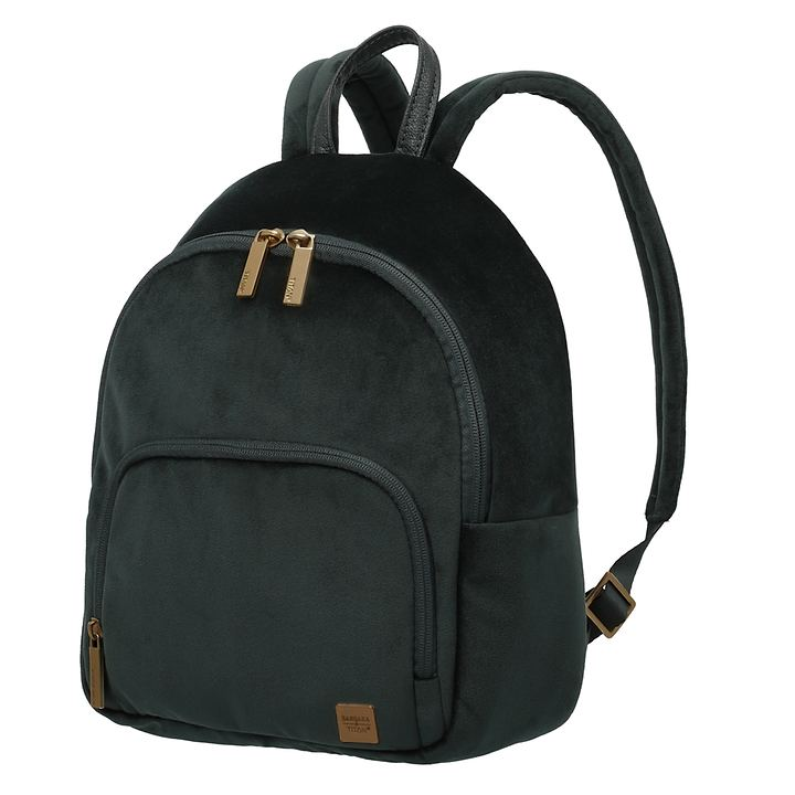 TITAN Barbara Velvet, Backpack, forest green