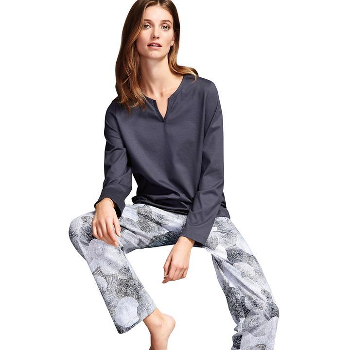 Seidig weicher Wohlfühl-Pyjama aus mercerisierter Baumwolle