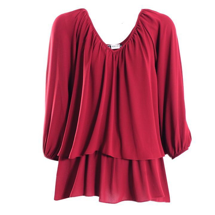 Shirt Mistral merlot Gr. 36