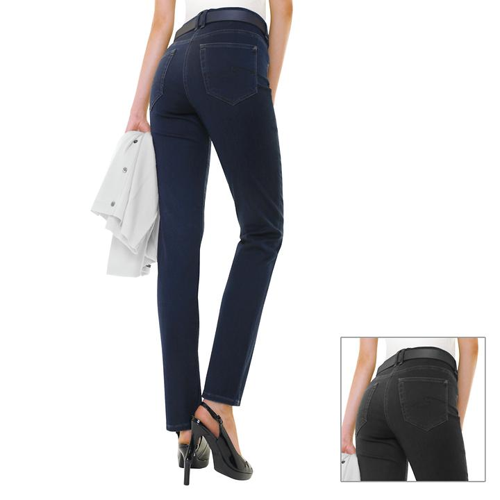 Schmal geschnittene Slim-Fit-Jeans
