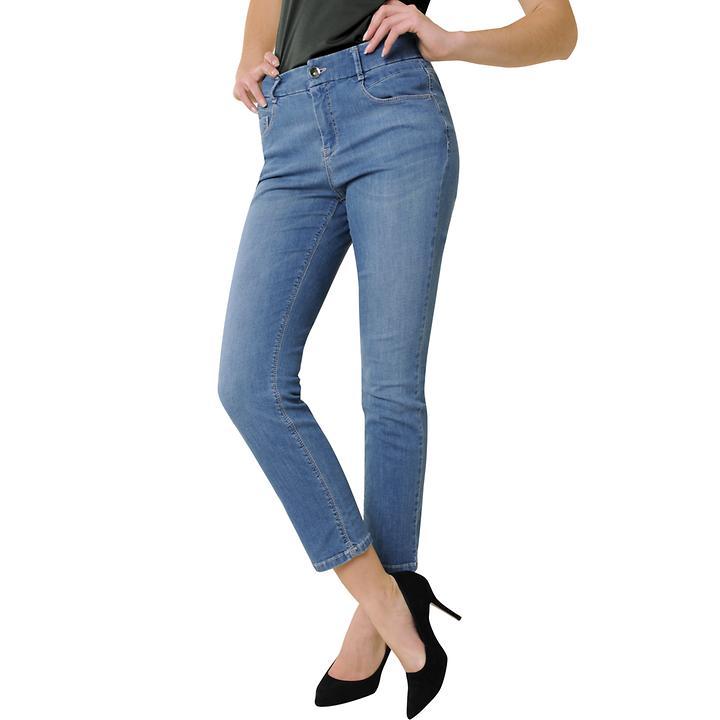 7/8-Magic-Jeans,hellblau, Gr. 40