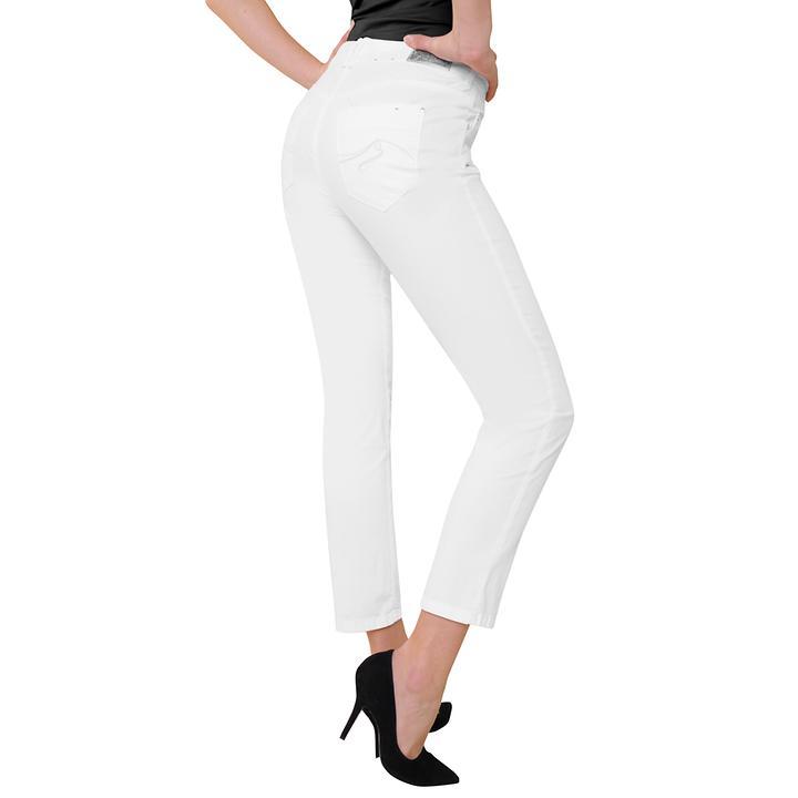 7/8-Magic-Jeans, weiß, Gr. 38