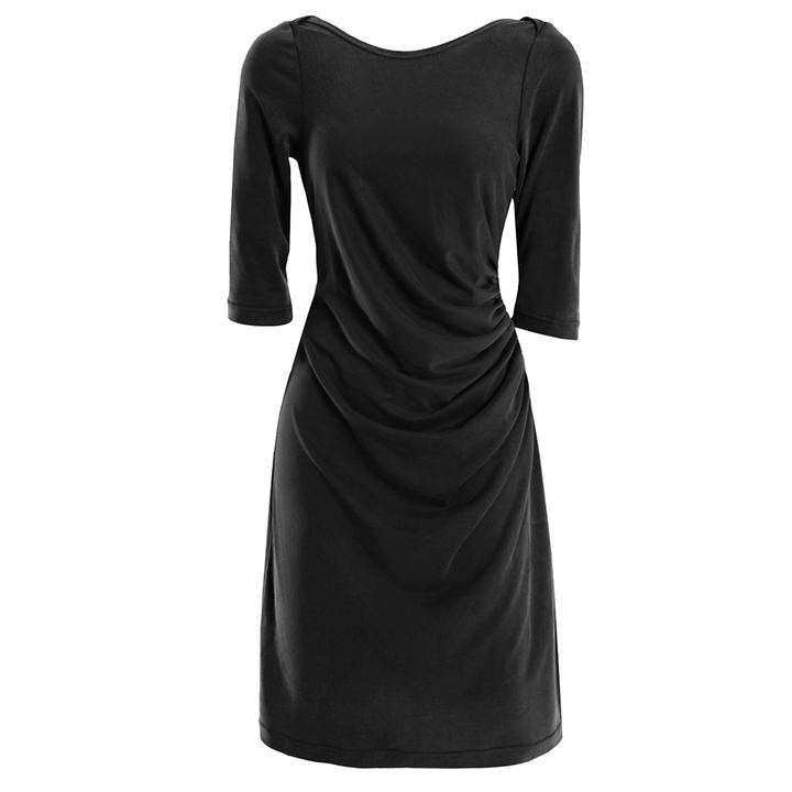 Kleid Althea schwarz, Gr. 38