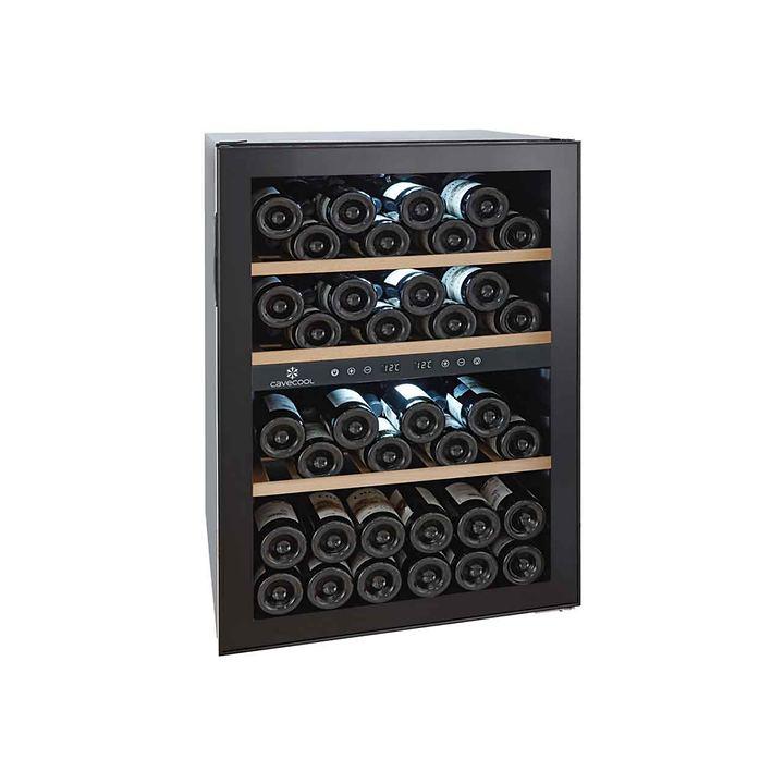 Zweizonen-Weinkühlschrank CaveCool Chill Topaz f. 62 Fl.