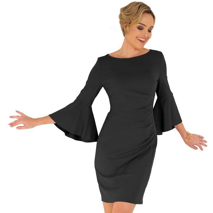 Kleid Anna schwarz Gr. 44