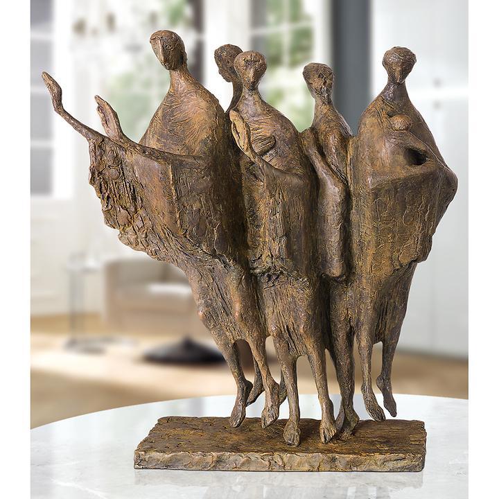 Skulptur Schwebende Figuren von Fritz Nuss