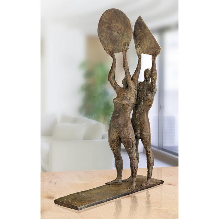 Skulptur Sonne und Mond von Karl-Ulrich Nuss