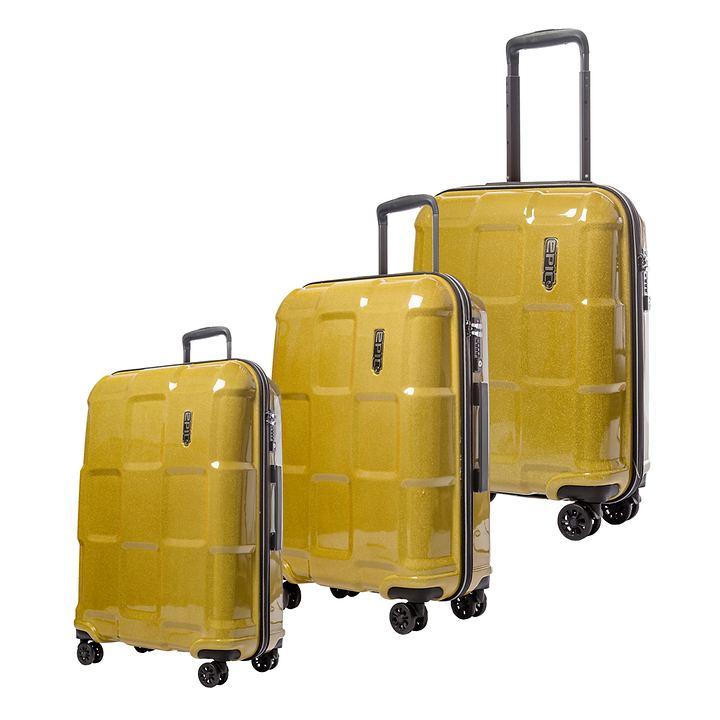 EPIC CRATE REFLEX Trolleys, Golden Glimmer, 4 Rollen