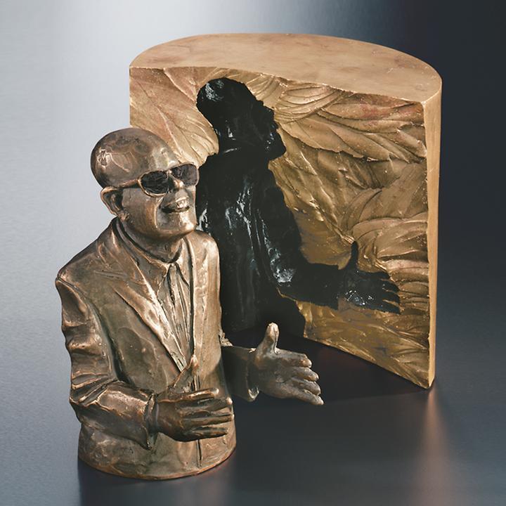 Skulptur Der Schwätzer