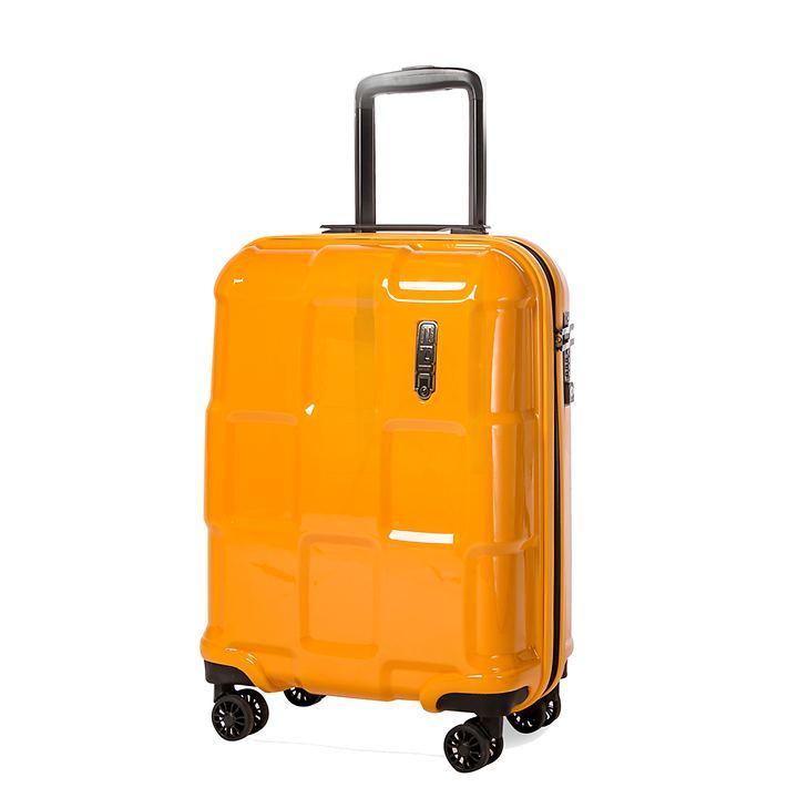 Epic CRATE EX SOLIDS, 55 cm, Trolley, Zinnia Orange, 4 Rollen, Kabinengepäck