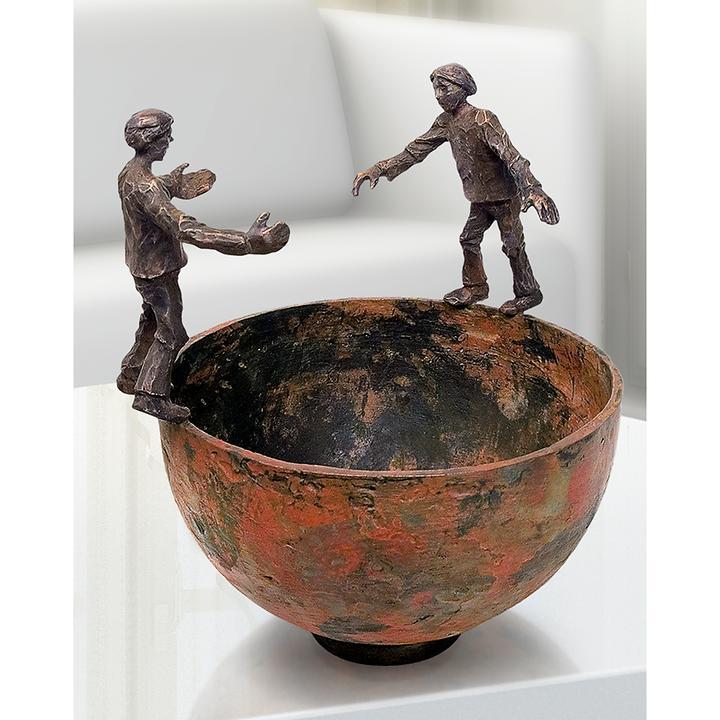 Skulptur Interaktion von Uwe Bürkle
