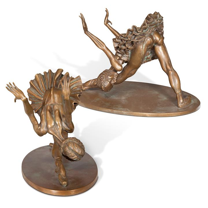 Skulptur Ballerina Galina
