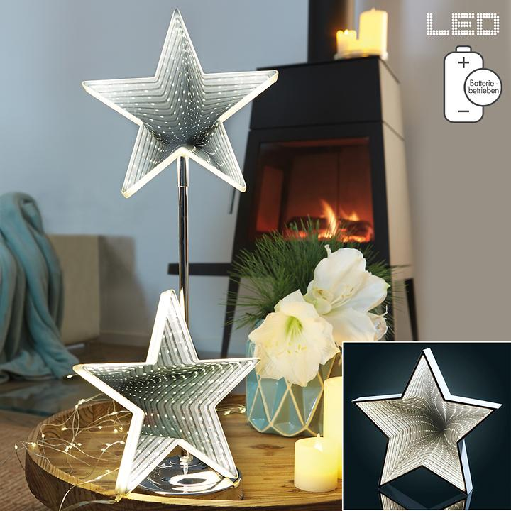 LED-Standstern Infinity