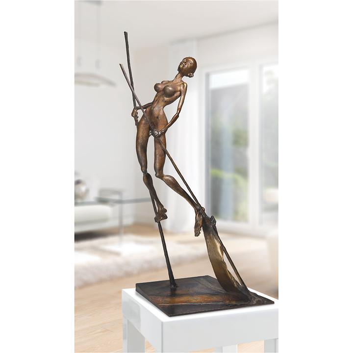 Skulptur Die Königin von Woytek