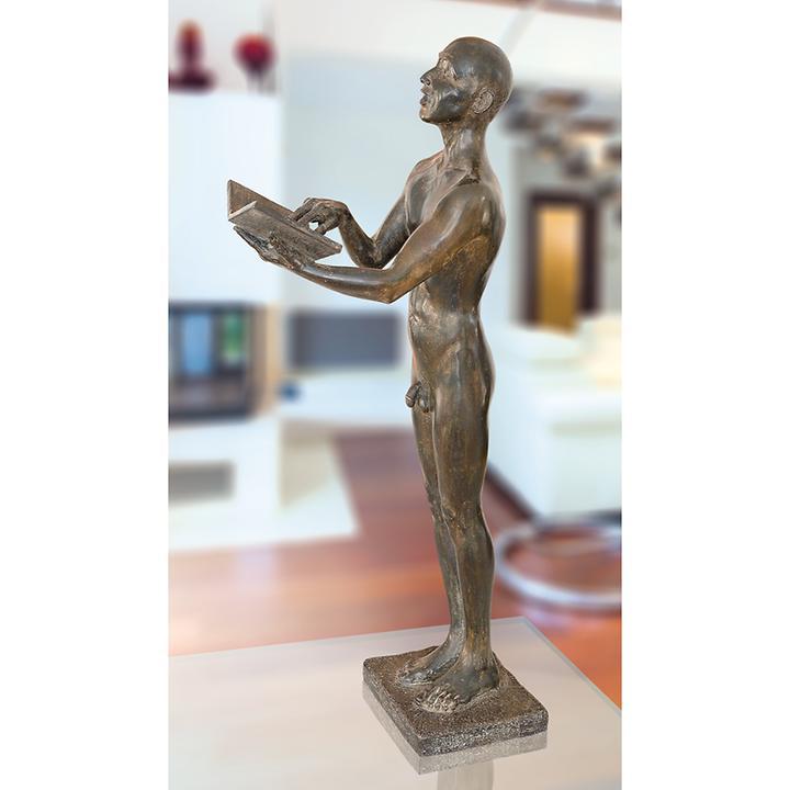 Skulptur Der Sänger von Rüdiger Schwenk