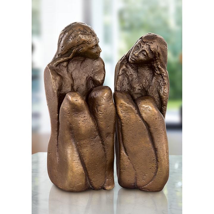 Skulptur Freundinnen 2-tlg. von Maria-Luise Bodirsky