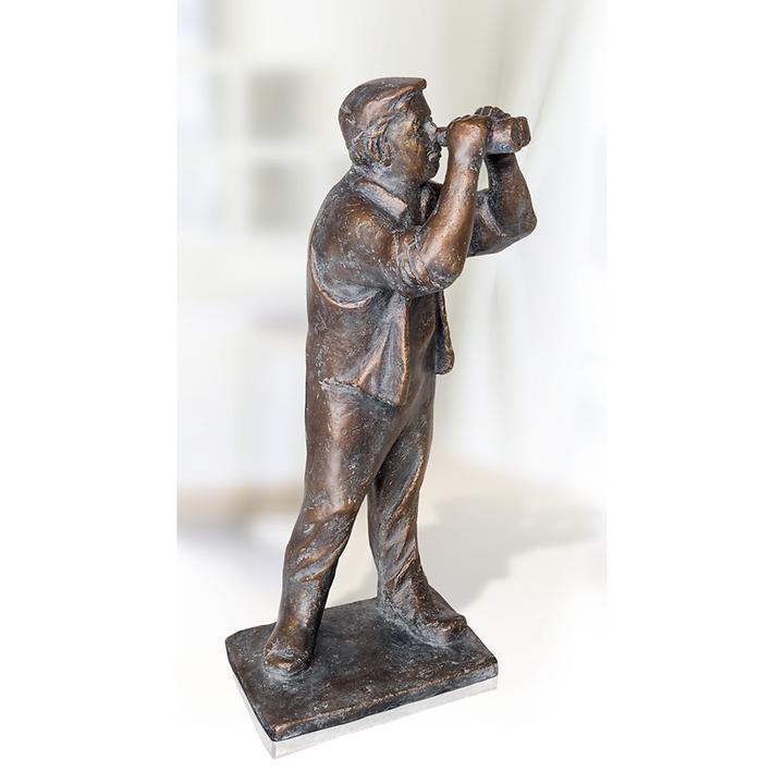 Skulptur Blick in die Zukunft von Friedhelm Zilly