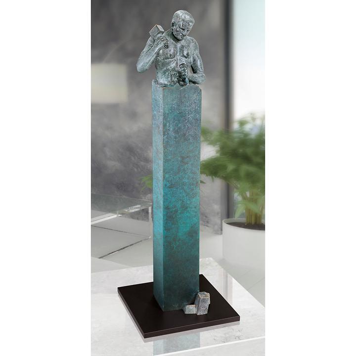 Skulptur Le sage faconne lui méme von Annie Jungers