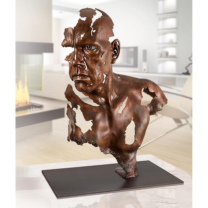 Skulptur Face to Face