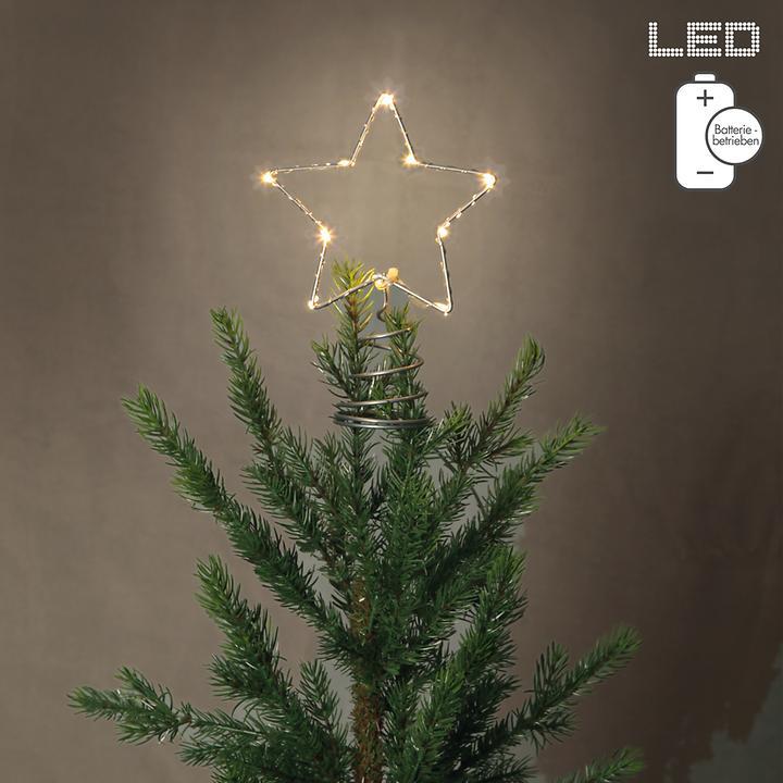 LED-Baumspitze Star batteriebetrieben