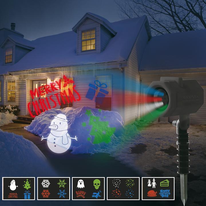 LED-Projektor mit Motiven