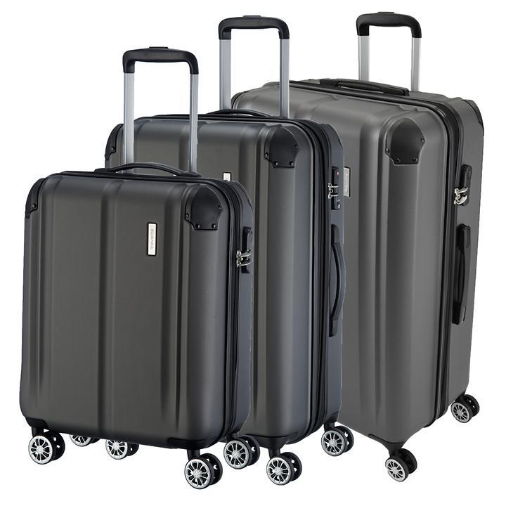 travelite City Trolleys, anthrazit, 4 Rollen