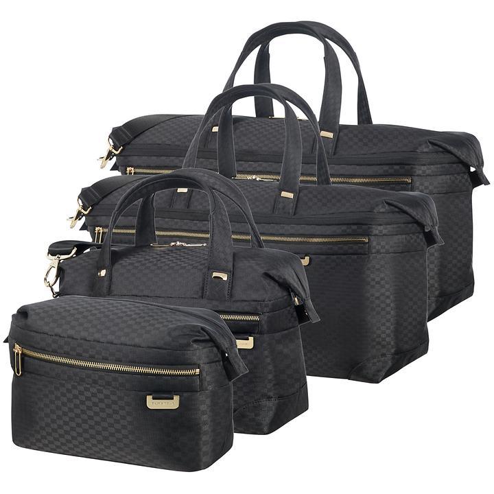 Samsonite Uplite, Toilet Kit, Beauty Case, Reisetaschen, black / gold