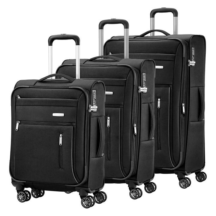 travelite Capri, Trolleys, schwarz, 4 Rollen